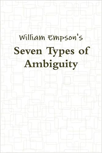 Buy Seven Types Of Ambiguity Book Online At Low Prices In