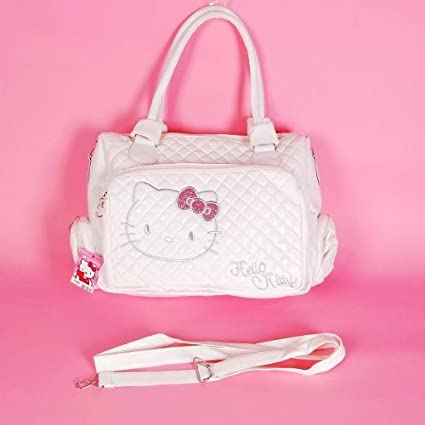 Image Unavailable. Image not available for. Color  Hello Kitty Tote Bag  Messenger Sling ... 7fb9f1d5c0c87