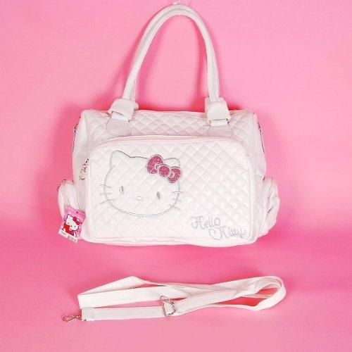 170e28b54 Amazon.com: Hello Kitty Tote Bag Messenger Sling Purse White: Sports &  Outdoors