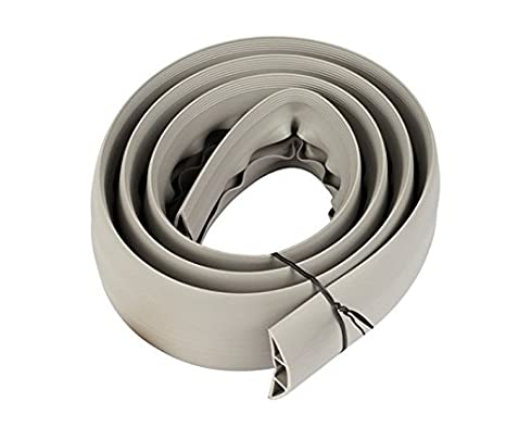 Black or Grey 1m-30m Lengths Floor Cable Cover 0.5m,1m,1.8m,2m,3m,5m,10m,15m,20m,30m 1m, Grey