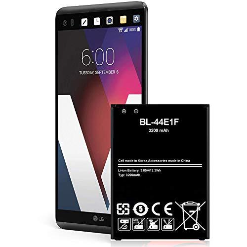 LG V20 Battery 3200 mAh Li-Ion Battery for LG V20 BL-44E1F US996, AT&T H910, T-Mobile H918, Verizon VS995, Sprint LS997 Spare Battery[24 Month Warranty ]