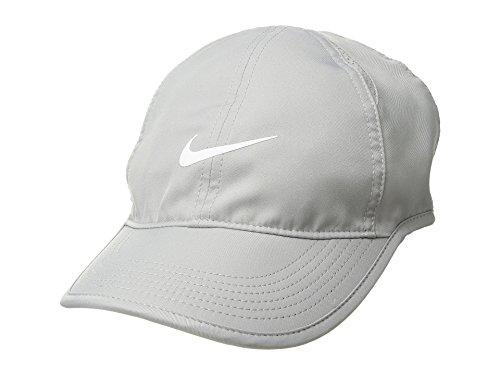 1a621d44 Galleon - NIKE Women's NikeCourt AeroBill Featherlight Tennis Cap  Atmosphere Grey/Black/White 1-Size (Atmosphere Grey/Black/White)