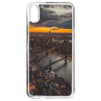 Amazon.com: NYC - Carcasa estética para iPhone XS Max ...