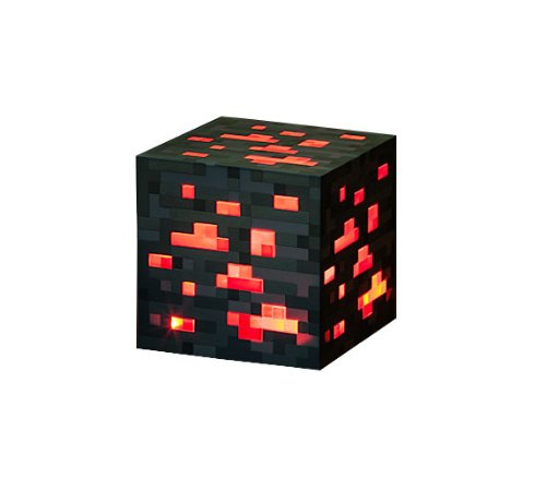 (Entertainment Earth Minecraft Light-Up Redstone Ore Statue)