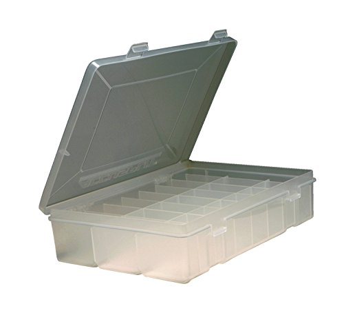 """Accusplit MMSTORAGE24P Pedometer Storage Case, Holds 24 Pedometers, 9-1/2"""" Length x 7"""" Width x 3-1/2"""" Thickness, Clear"""