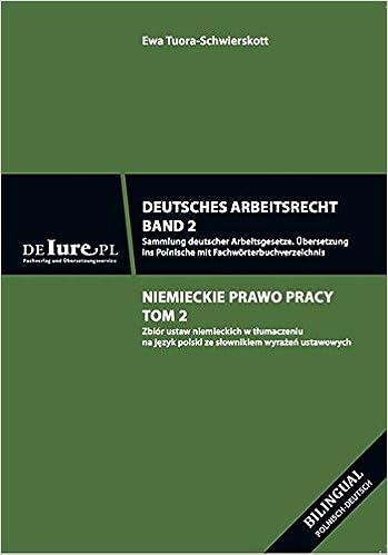 Deutsches Arbeitsrecht Band 2 übersetzung Ins Polnische Sammlung