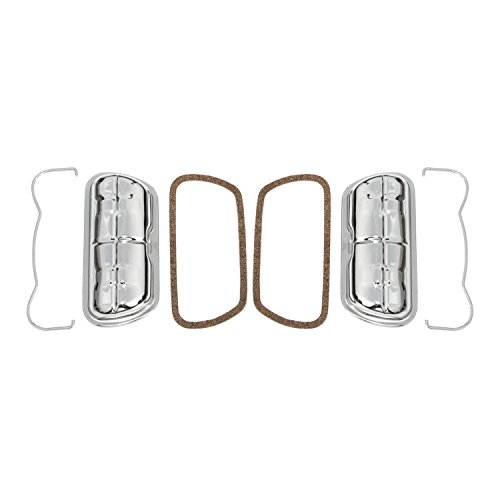 IAP Performance AC101401 Valve Cover Kit (Chrome Stock for VW Beetle) ()