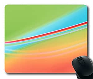 Abstract Graphic Design Ii Mouse Pad Oblong Shaped Mouse Mat Design Natural Eco Rubber Durable Computer Desk Stationery Accessories Mouse Pads For Gift by icecream design