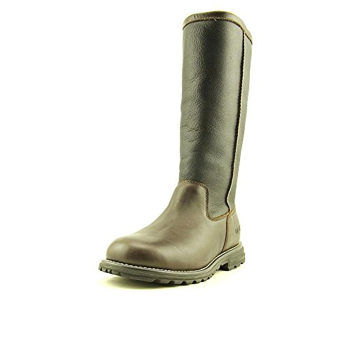 UGG Australia Women's Brooks Tall Brown Leather Boot 10 M US