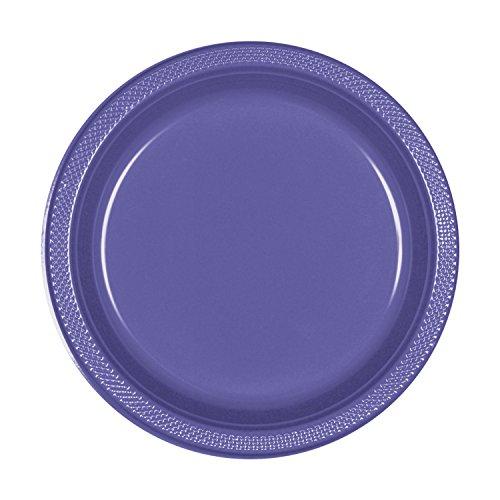 New Purple Plastic Plates   7