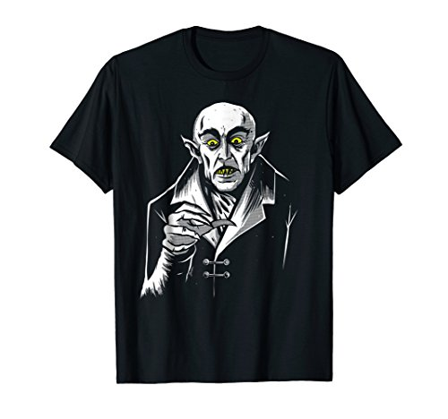 Vampire Nosferatu Monster Dracula Halloween T-shirt ()