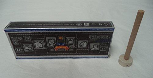 Satya Nag Champa SUPER HIT Dhoop Incense Sticks, 2 x 10 Packs