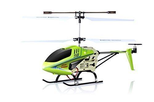 SYMA S8 Grün - Hubschrauber, schwarz