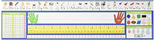 DESK PLATE -TRADITIONAL MANUSCRIPT, (Traditional Manuscript Alphabet)