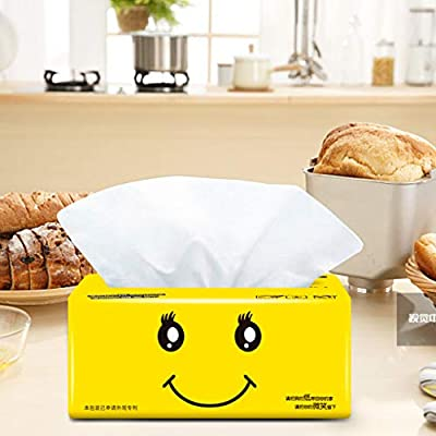 Clearance Sale! Paper Towels,Multifold Paper Towels Absorbent White,300 Sheets (A): Kitchen & Dining