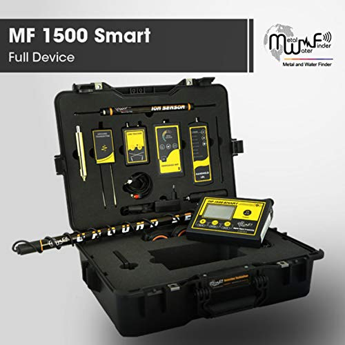 Amazon.com : MWF MF 1500 Smart Long Range Metal Detector - Professional Deep Seeking Detector with 4 Search Systems - Underground Depth Scanner and Treasure ...