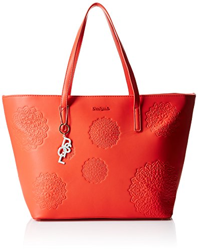 DesigualSAN FRANCISCO BLICK - Bolsa de Hombro Mujer Rojo - Rot (FIESTA 3148)