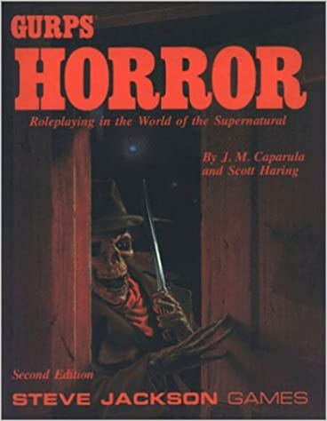 Book Gurp's Horror: The Complete Guide to Horrific Roleplaying by J. M. Caparula (1991-06-01)