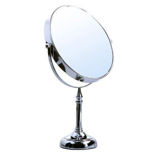 Songmics® 10 fach Kosmetikspiegel 8 inch Schminkspiegel doppelseitiger Standspiegel BBM006