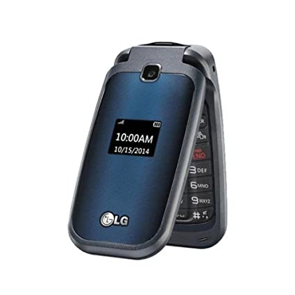 Amazon.com: LG móvil de prepago con tapa teléfono ...