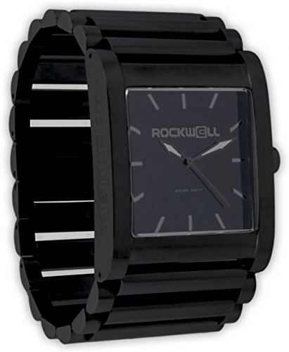 Rockwell Time Men's Rook Dial Watch, Black Case/Black by Rockwell Time