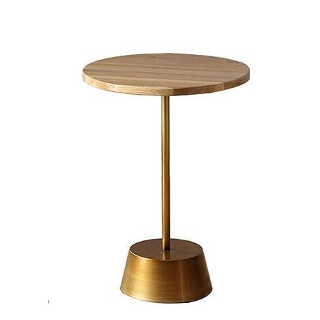 Amazon.com: Jcnfa-Tables - Mesa auxiliar de madera maciza ...