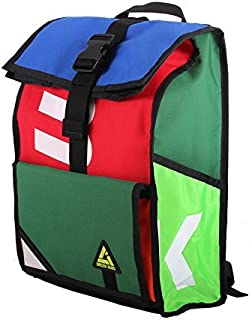 product image for Green Guru Gear Joyride Roll Top Upcycled Made in USA Commuter Backpack