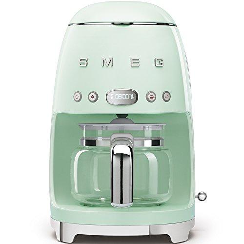 SMEG 1950's Retro Style Coffee Maker Machine (Pastel Green)