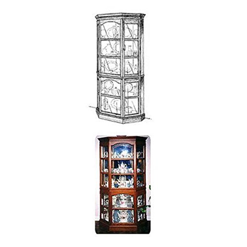 Woodworking Project Paper Plan to Build Heavy Duty Curio Cabinet (Collection Curio China)