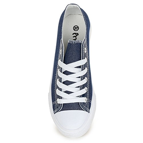 Prendimi Scarpe&Scarpe - Sneaker mit Lurex-Effekt - 40,0, Blau