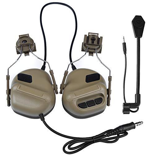 5c7c24a87d7 CASCO Airsoft tomtac Comtac II 2 Headset Microfono Boom RADIO Peltor Design  OD GREEN Paintball Altri sport