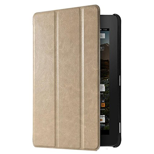 """Photo - For Kindle accessories,Kshion Ultra Slim Leather Case Stand Cover Shockproof [Anti Slip] for 7"""" Amazon Kindle Fire HD 7 2015 (Gold)"""