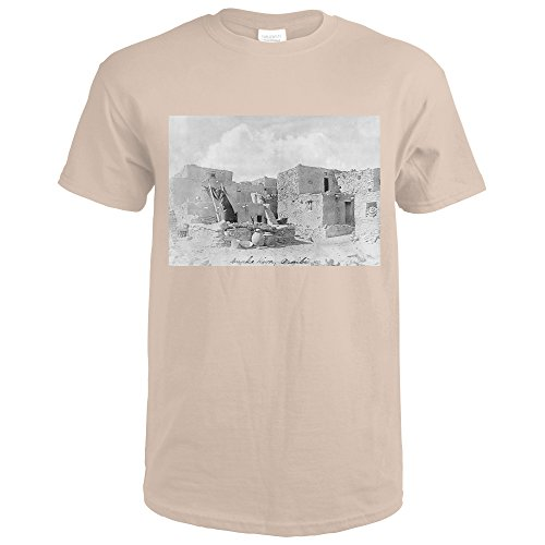 Hopi Indian Oraibi Pueblo Photograph (Sand T-Shirt (Pueblo Sands)