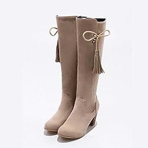 Amazon.com : Women's Shoes Suede Winter Fall Comfort