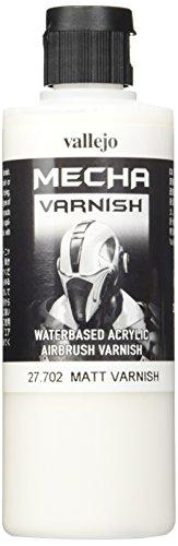 Airbrush Paint Lacquer - Vallejo Mecha Matt Varnish 200ml Painting Accessories