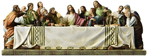 Last Supper Collection Joseph's Studio Jesus and The 12 Disciples at The Last Supper, 11.25-Inch -