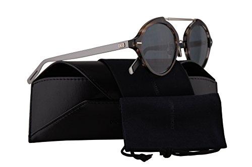07db50896c Christian Dior Homme DiorSystem Sunglasses Havana Palladium w Blue Avio Lens  49mm 9G0KU Dior System