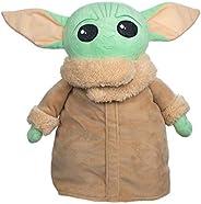Mandalorian The Child Baby Yoda Grogu Plush Mini Backpack