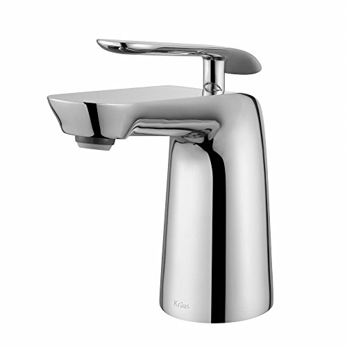 Single Nipper (Kraus FUS-1821CH Seda Single Lever Basin Bathroom Faucet, Chrome)