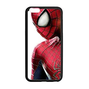 the Case Shop- Spider Man Spiderman Super Hero TPU Rubber Hard Back Case Silicone Cover Skin for iPhone 6 Plus 5.5 Inch , i6pxq-666