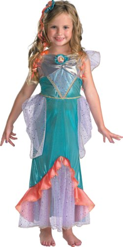 [Ariel Deluxe Costume - Medium] (Ariel Blue Dress Costumes)