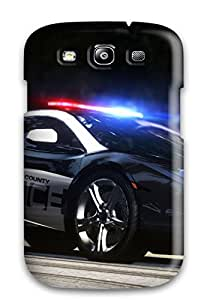 New Style 7176039K31969471 Cute Appearance Cover/tpu Nfs Hot Pursuit Cop Car Case For Galaxy S3