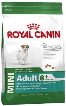 Royal Canin Mini Adulto 8+, una bolsa de 2 kg
