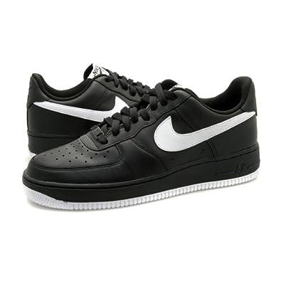Amazon.com | NIKE AIR FORCE 1 '07 - GREY BOX (11, Black/White-Black) |  Fashion Sneakers