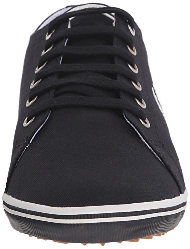 Kingston et EU Richelieus Homme Twill Noir Blanc 3 Perry Fred Bleu PqRT4wWFx