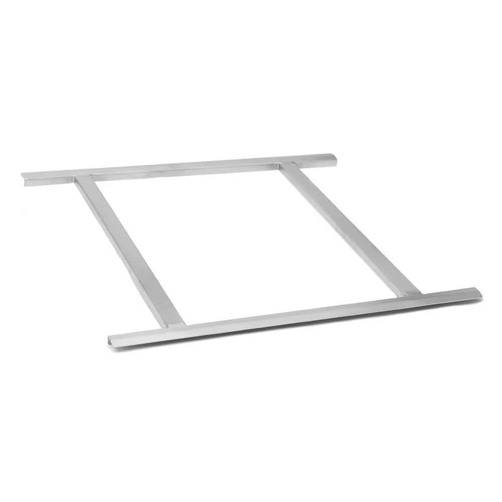 Fenix Sol Commercial Stainless Steel Rack Slide, 20'' W x 20'' L, NSF Certified