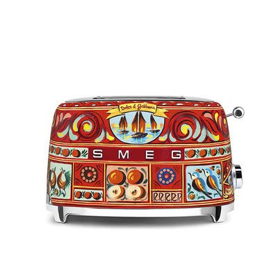 4. Dolce and Gabbana x Smeg 2 Slice Toaster,