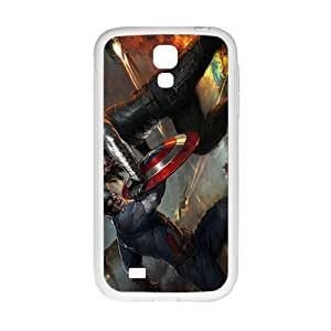 Custom Captain America and Black Widow Desgin High Quality Case Cover Fashion Style for Samsung Galaxy S4
