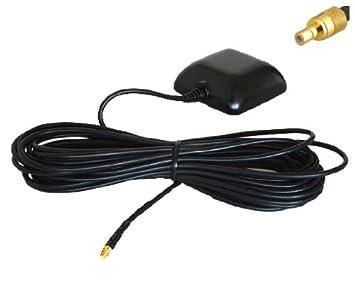 GPS Antena Externa con SMB Conexión: Magnética, Impermeable, Activa, 5metros Cable para Navegación: Audi, Blaupunkt, VW, Mercedes, Medion, BMW: Amazon.es: ...