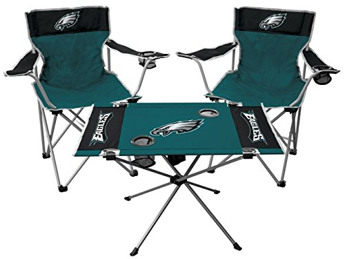 Rawlings NFL Philadelphia Eagles Tailgate Kit, Team Color, One Size